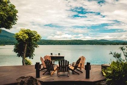 Tranquilidad de la naturaleza en Jícaro Island Lodge (Crédito: Prensa Nicaragua)