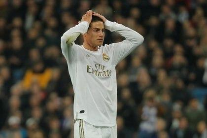 James Rodríguez forma parte del plantel del Real Madrid pero no es tenido en cuenta por el entrenador, Zinedine Zidane (Reuters)