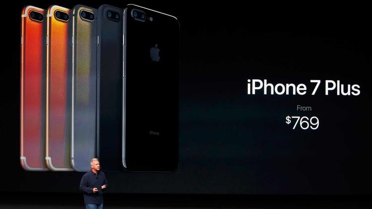 5de17334346 Se reveló el misterio: cómo es el nuevo iPhone 7 - Infobae