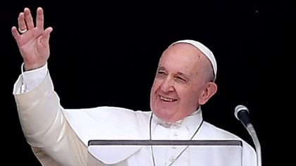 El papa Francisco(Photo by Tiziana FABI / AFP)