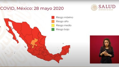(Foto: Captura de Pantalla Secretaría de Salud)