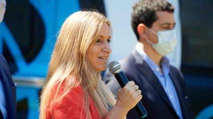 Florencia Carignano, directora nacional de Migraciones