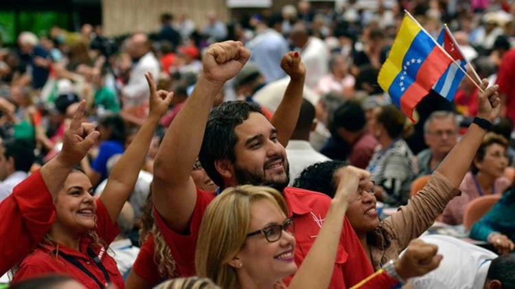 Nicolás Ernesto Maduro Guerra, hijo del mandatario chavista, también estuvo en el Encuentro en La Habana