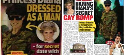 """La revista """"Globe"""" hizo una recreación de cómo pudo verse Diana esa noche"""