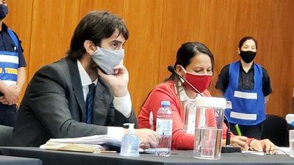 Lisandro Mobilia y Daniela Verón, abogados de Dolores Etchevehere