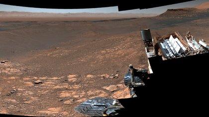 El 4 de marzo último el robot Curiosity obtuvo la imagen más nítida de Marte en la historia con 1,8 millones de pixeles (NASA)