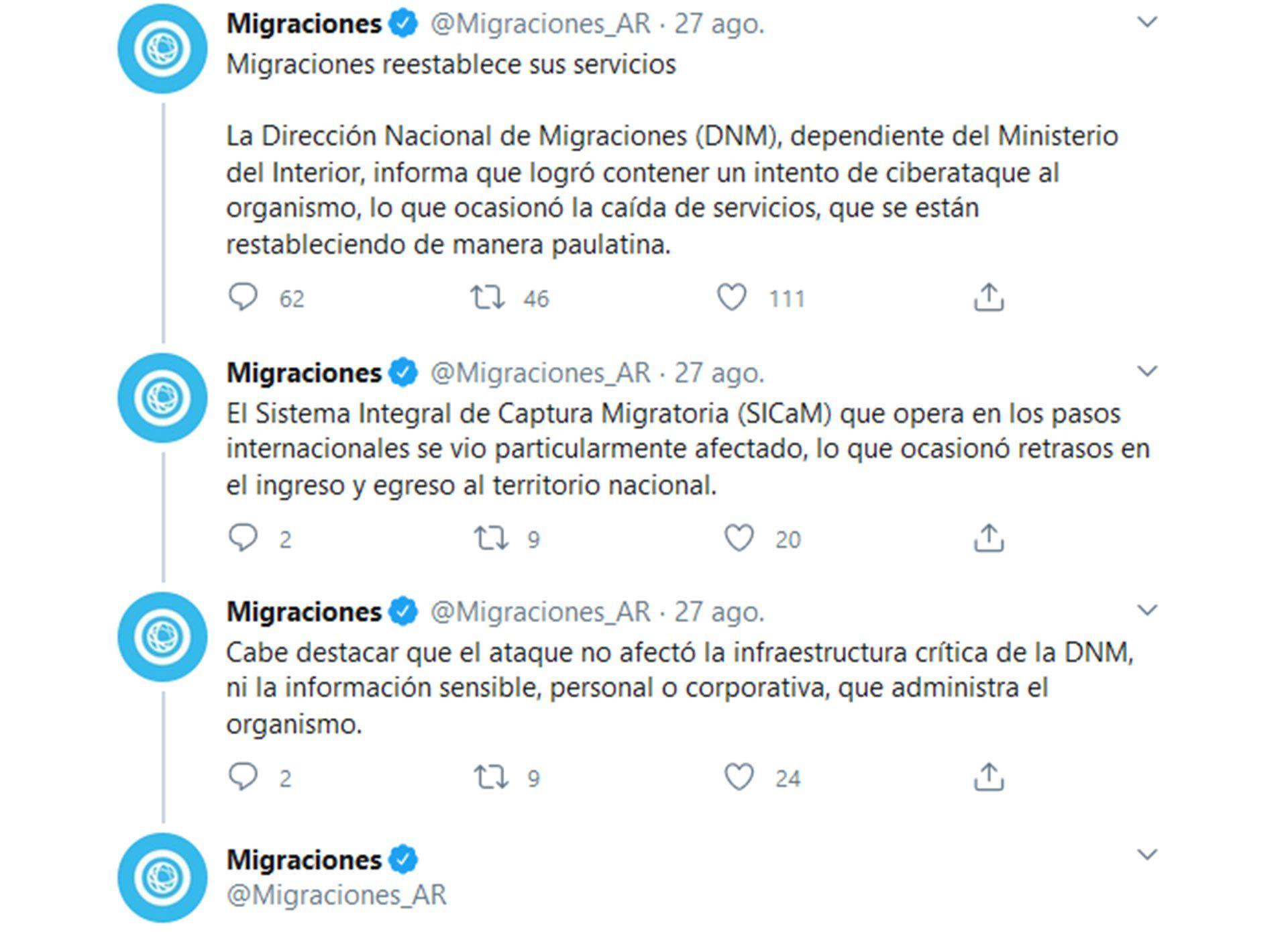 Hackeo a migraciones