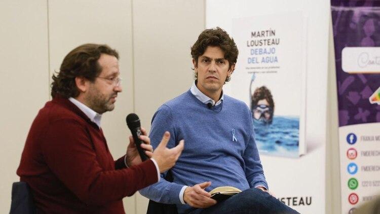 Martín Lousteau junto a Marco Lavagna