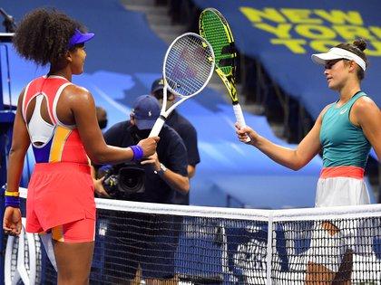 En primer turno, la japonesa Naomi Osaka eliminó a la local Jennifer Brady y con 22 años intentará lograr su tercer Grand Slam (Robert Deutsch-USA TODAY Sports)