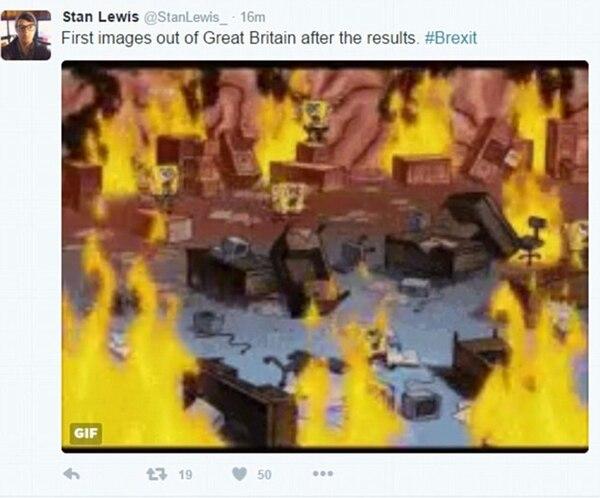 Parti Populiste Memes Bob Esponja Fuego