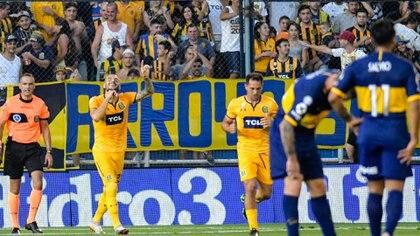 Rosario Central le ganó 1 a 0 en el Gigante de Arroyito (Fotobaires)
