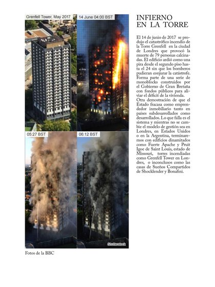 """Se produjo un incendio en el segundo piso y el fuego subió velozmente provocando la muerte de 79 personas calcinadas por el violento incendio (Foto: """"El gran cambio"""", Guillermo Laura)"""