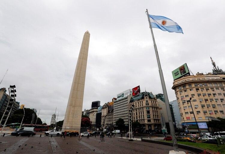 La ciudad de Buenos Aires permaneció casi desierta durante el fin de semana por el incremento de casos de coronavirus - REUTERS/Agustin Marcarian