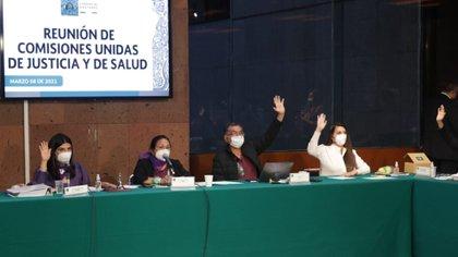 Las comisiones de Salud y Justicia en San Lázaro le hicieron varios cambios sustanciales al proyecto aprobado en el Senado (Foto: Cortesía Cámara de Diputados)