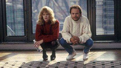 Billy Cristal y Meg Ryan en Cuando Harry conoció a Sally