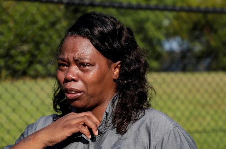 Marquita Campbell (en la imagen) contó que su esposo había acudido por la mañana a la fábrica para una entrevista de trabajo. Estaba hablando con él por teléfono cuando comenzó el ataque. (Foto: Tallahassee Democrat)