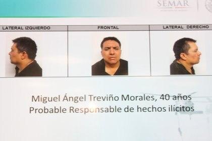 Miguel Ángel Treviño Morales detenido en 2013. (Foto: SAÚL LÓPEZ /CUARTOSCURO)