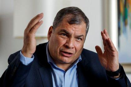 El expresidente de Ecuador Rafael Correa (EFE/ José Méndez/Archivo)