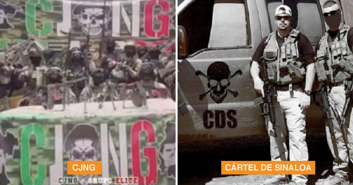 Sinaloa Cartel vs CJNG: They fear an upturn in violence due to the alleged pacts between the government and the