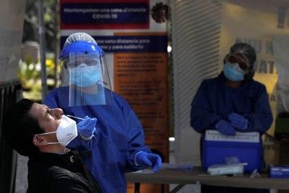 La Secretaría de Salud tiene registrados rebrotes  en Chihuahua, Durango, Ciudad de México, Coahuila, Aguascalientes, Querétaro y Zacatecas. (Foto: Reuters/Carlos Jasso)