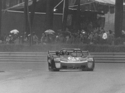 Mason en la edición 1979 de Le Mans. Terminó 18º. Ese año compartió pista con Paul Newman.
