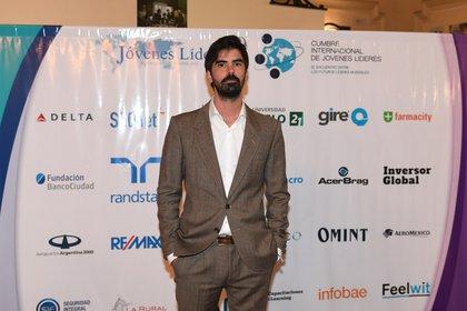 Leandro Viotto Romano, fundador y presidente de la Cumbre Internacional de jóvenes líderes