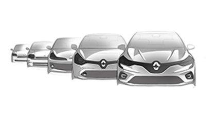 La última generación tomó algunas ideas que fueron éxito en la primera (Renault)