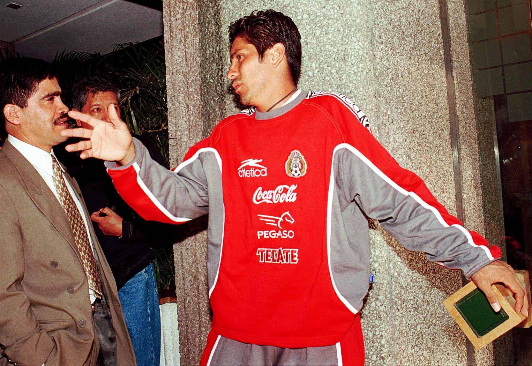 """El ex arquero realizó una """"travesura"""" que casi le cuesta su debut en la justa mundialista (Foto: Cuartoscuro)"""
