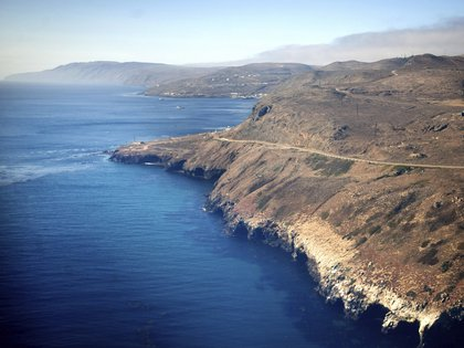 La costa del Pacífico en California