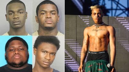 Los cuatro sospechosos en el asesinato de XXXTentación