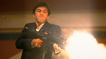 """Al Pacino, en """"Scarface"""""""