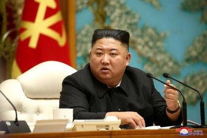 El dictador norcoreano Kim Jong-un (Foto: KCNA vía Reuters)