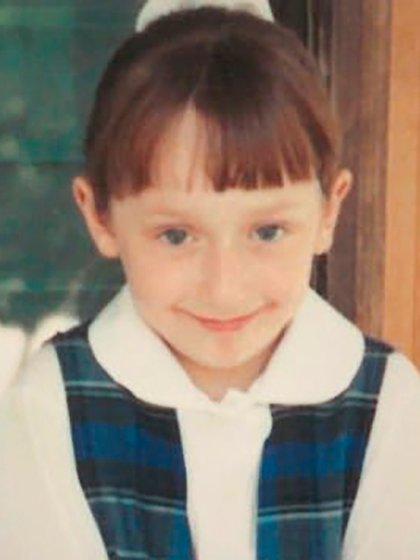 Heather, en los primeros años de su vida junto a los Robinson, cuando todavía ignoraba lo que había sucedido con su madre biológica