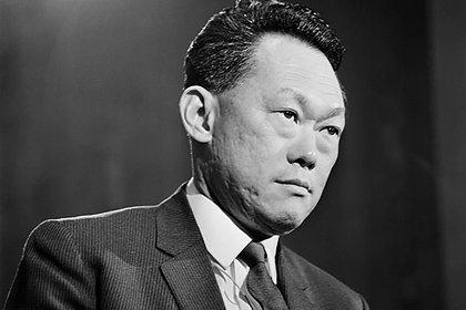Lee Kuan Yew, padre fundador del régimen que vigente en Singapur (Creative Commons)
