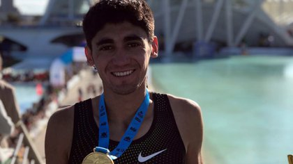 Eulalio Muñoz, uno de los clasificados en maratón (@eulaliomjr)