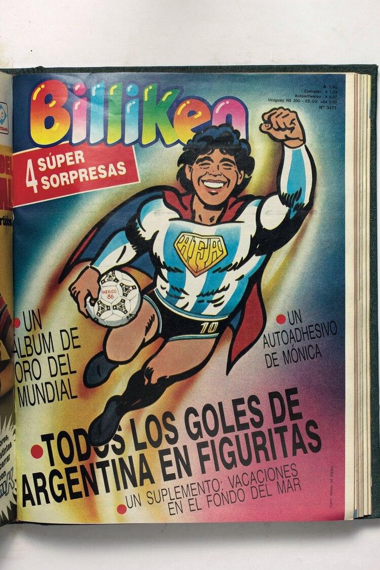 La edición del Mundial '86 que incluyó un álbum de figuritas acompañó la pasión del futbol de los niños y no tanto.