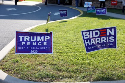 Ambos candidatos rechazaron estados clave que se han visto gravemente afectados por el gobierno 19