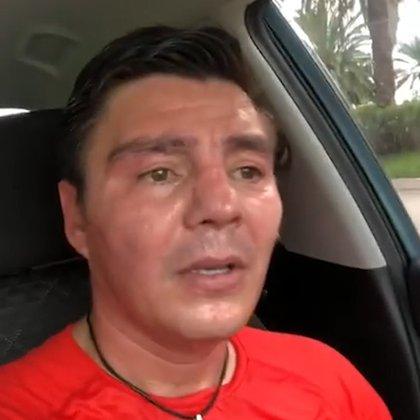 El ex boxeador subió el video a YouTube y lo compartió en redes sociales. (Foto: tomada de video)