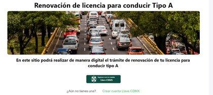 (Foto: captura de pantalla Gobierno de la CDMX Secretaría de Movilidad)