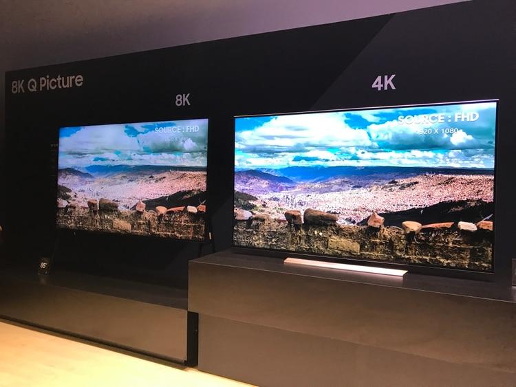 La resolución 8k abarca casi 33 millones de píxeles en una única pantalla (Foto: Archivo)