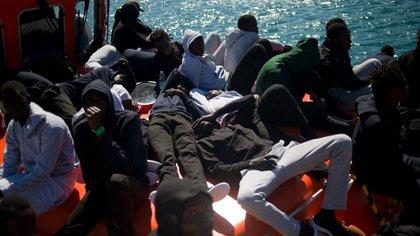 En 2018 más de 50.000 migrantes llegaron a Europa por el Mediterráneo (AFP)