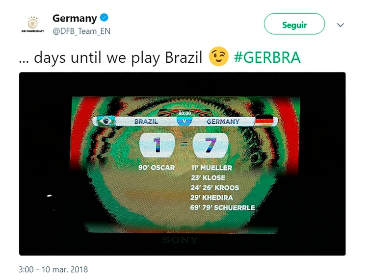 La inesperada burla por Twitter de la selección de Alemania