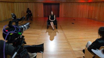 En la Usina del Arte, muchos estudiantes se reunieron para ver la charla de Cristina Pérez, que contó secretos de su oficio y de su camino personal.