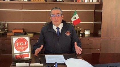 Alejandro Jaime Gómez Sánchez, fiscal del Estado de México rindió su informe de trabajo 2020  (Foto: Twitter / @FiscalEdomex)