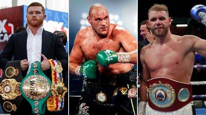 """""""Un boxeador hábil"""": Tyson Fury reveló quién es su preferido entre Canelo Álvarez y Billy Joe Saunders"""