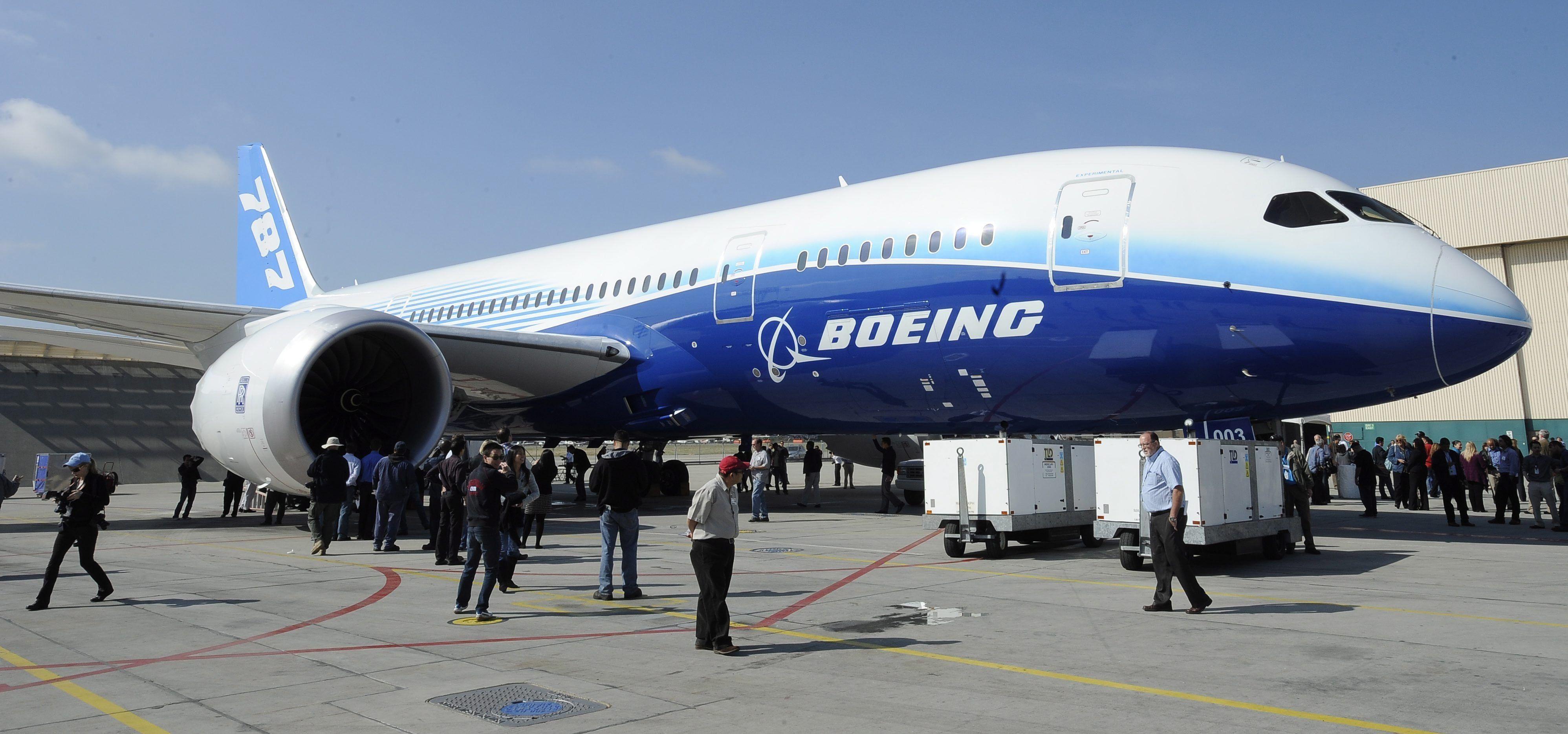 Vista de un Boeing 787 Dreamliner en Long Beach, California (EE.UU.), en una fotografía de archivo. EFE/Michael Nelson