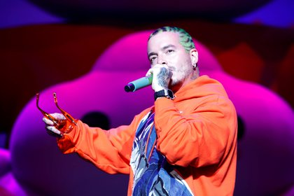 Cabello también le agradeció al reggaetonero por abrir las puertas a más artistas latinos (Foto: EFE/Thais Llorca)