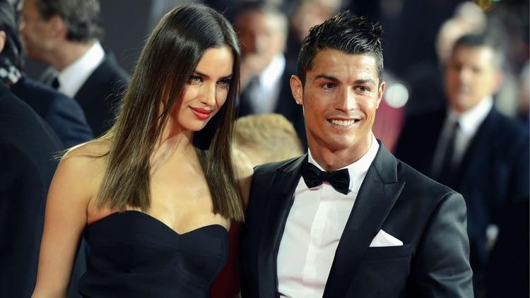 Irina Shayk y Cristiano Ronaldo (AP)