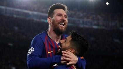 Barcelona sueña con un súper equipo para contener a Messi la próxima temporada (foto: REUTERS)