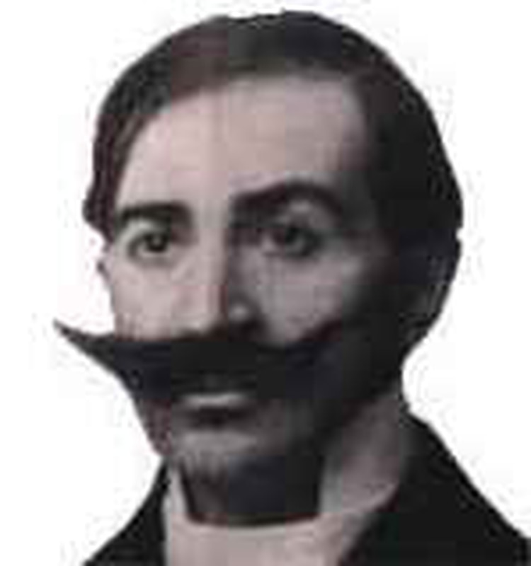 El doctor Alejandro Posadas, el protagonista de la primera película hecha en el país
